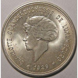 Photo numismatique Monnaies Etrang�res Luxembourg 5 Francs