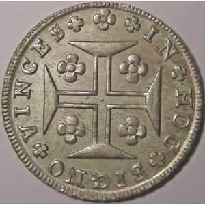 Photo numismatique Monnaies Etrangères Portugal 400 Reis