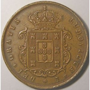Photo numismatique Monnaies Etrangères Portugal 20 Reis