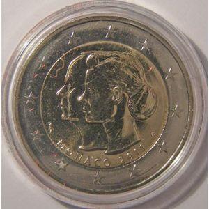 Photo numismatique Monnaies Euros Monaco 2 Euro