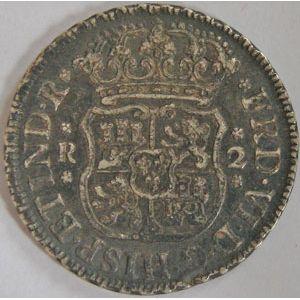 Photo numismatique Monnaies Etrang�res Mexique 2 Reales