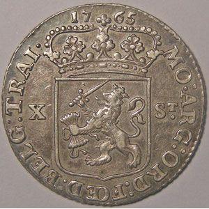 Photo numismatique Monnaies Etrang�res Pays-Bas 10 Stuivers