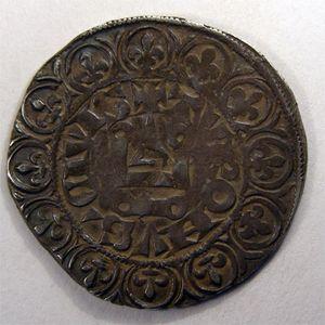 Photo numismatique Monnaies Royales Françaises JEAN II dit Jean Le Bon (1350-1364) Gros Tournois