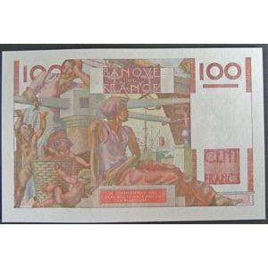 Photo numismatique Billets Billets France 100 Francs Paysan
