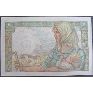 Photo numismatique Billets Billets France 10 Francs Mineur