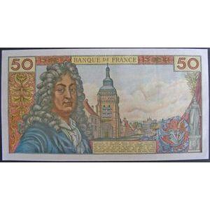 Photo numismatique Billets Billets France 50 Francs Racine