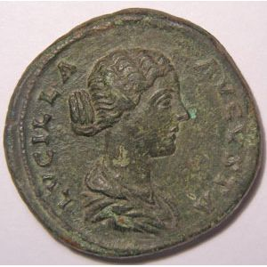 Photo numismatique Monnaies Empire Romain LUCILLE (Femme de Lucius V�rus) Sesterce