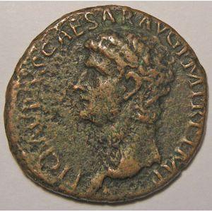 Photo numismatique Monnaies Empire Romain CLAUDE Ier (41-54) As