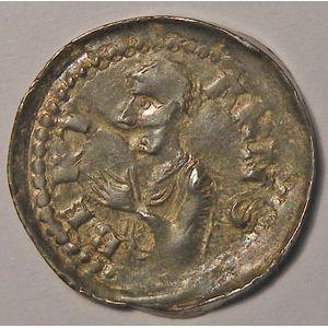 Photo numismatique Monnaies Lorraine Evêché de Metz Bertram (1180-1212)