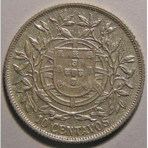 Photo numismatique Monnaies Etrangères Portugal 10 Centavos