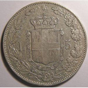 Photo numismatique Monnaies Etrangères Italie 5 Lire