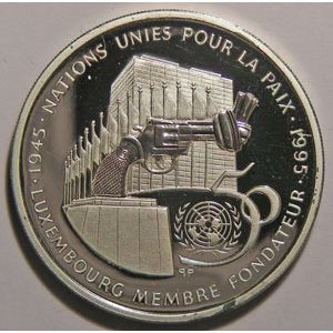 Photo numismatique Monnaies Etrang�res Luxembourg 100 Francs
