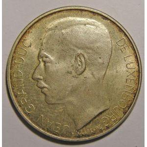 Photo numismatique Monnaies Etrangères Luxembourg 100 Francs