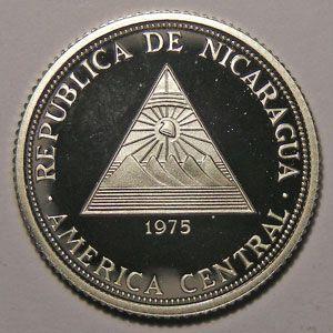 Photo numismatique Monnaies Etrang�res Nicaragua 20 Cordobas