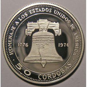 Photo numismatique Monnaies Etrang�res Nicaragua 50 Cordobas