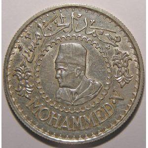 Photo numismatique Monnaies Etrang�res Maroc Mohammed V 1346-1380 (1927-1961)