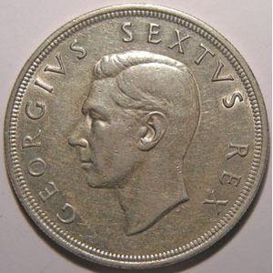 Photo numismatique Monnaies Etrang�res Afrique du Sud 5 Shillings