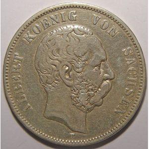 Photo numismatique Monnaies Etrang�res Allemagne Sachsen