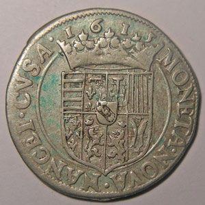 Photo numismatique Monnaies Lorraine Duché de Lorraine Henri II (1608-1624)