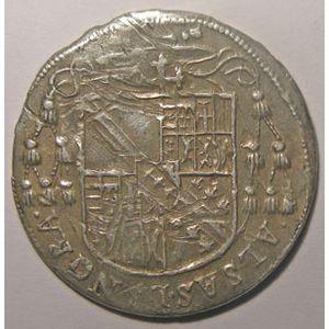 Photo numismatique Monnaies Lorraine Evêché de Metz Charles II de Lorraine ( 1578-1607)