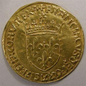 Photo numismatique Monnaies Royales Françaises FRANCOIS Ier (1515-1547) Ecu d'or au soleil
