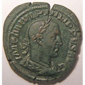 Photo numismatique Monnaies Empire Romain PHILIPPE I (244-249) Sesterce