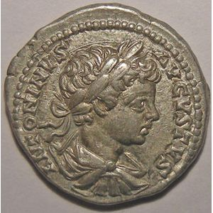 Photo numismatique Monnaies Empire Romain CARACALLA (196-217) Denier
