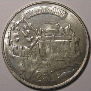 Photo numismatique Monnaies Etrang�res Luxembourg 250 Francs