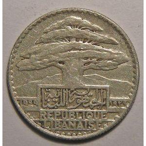 Photo numismatique Monnaies Etrangères Liban 10 Piastres
