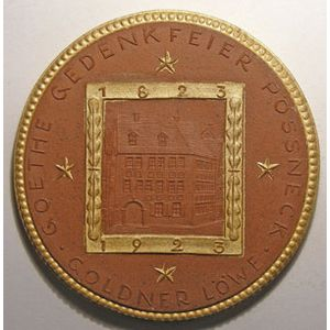 Photo numismatique Monnaies Etrangères Allemagne Monnaies et médailles en porcelaine