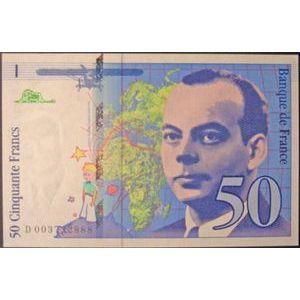 Photo numismatique Billets Billets France 50 Francs Saint-Exupery
