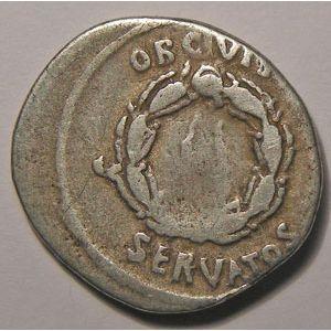 Photo numismatique Monnaies Empire Romain AUGUSTE (27 Av JC- 14 Ap JC) Denier