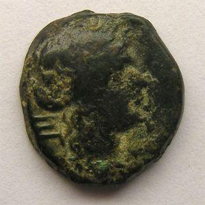 Photo numismatique Monnaies Gauloises Marseille Bronze au taureau