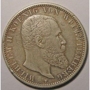 Photo numismatique Monnaies Etrang�res Allemagne W�rttemberg