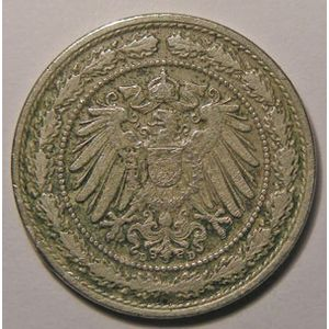 Photo numismatique Monnaies Etrang�res Allemagne Empire Allemand divisionnaire