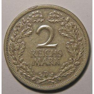 Photo numismatique Monnaies Etrangères Allemagne République de Weimar