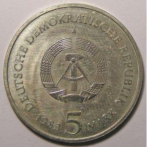 Photo numismatique Monnaies Etrangères Allemagne DDR