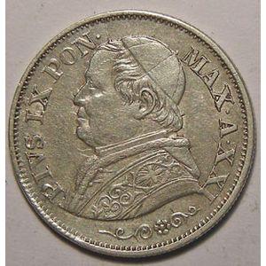 Photo numismatique Monnaies Etrangères Vatican 10 Soldi