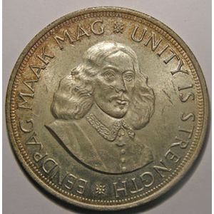 Photo numismatique Monnaies Etrangères Afrique du Sud 50 Cents