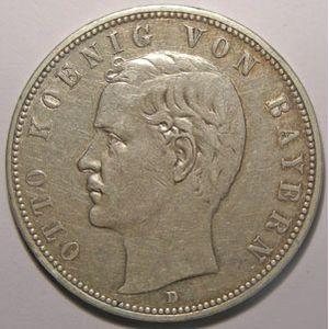 Photo numismatique Monnaies Etrang�res Allemagne Bayern