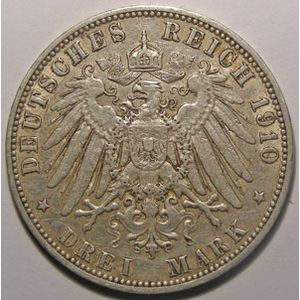 Photo numismatique Monnaies Etrang�res Allemagne Hamburg