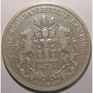 Photo numismatique Monnaies Etrang�res Allemagne Hamburg