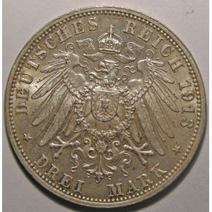 Photo numismatique Monnaies Etrang�res Allemagne Sachsen