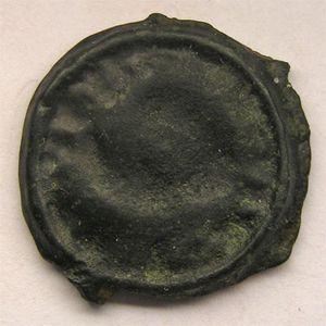 Photo numismatique Monnaies Gauloises Lingons Potin aux 3 poissons