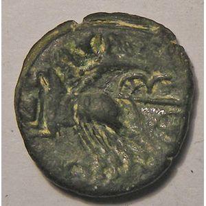 Photo numismatique Monnaies Gauloises Rèmes Bronze REMO