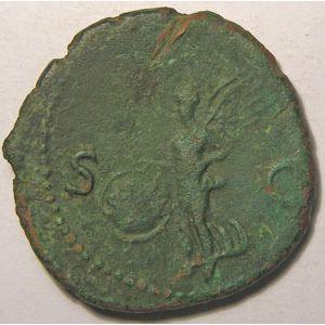 Photo numismatique Monnaies Empire Romain NERON (54-68) As