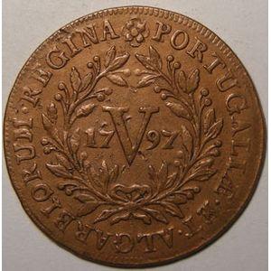 Photo numismatique Monnaies Etrangères Açores 5 Reis