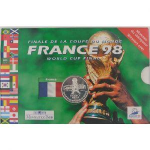 5 Francs 1998 Argent, Finale de la Coupe du Monde de Football