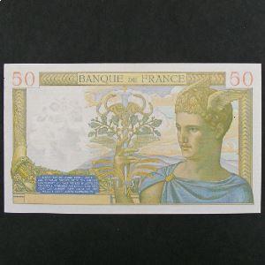 50 Francs Cérès  14.9.1939, TTB