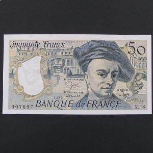 50 Francs Quentin de la Tour 1980, SUP+